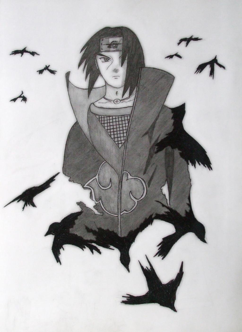 Madara Drawing In Pencil Uchiha Itachi by HYUUG...