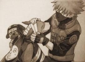 Naruto: Kakashi Hatake by HYUUGACLAN1