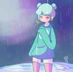 Its a little rainy tonight