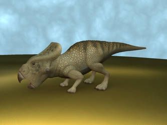 Protoceratops rendering test by 0202742