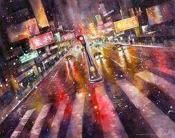 The City that Never Sleeps by rainbowtse