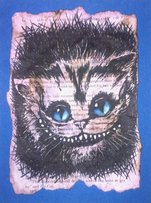 Cheshire Cat by April0930