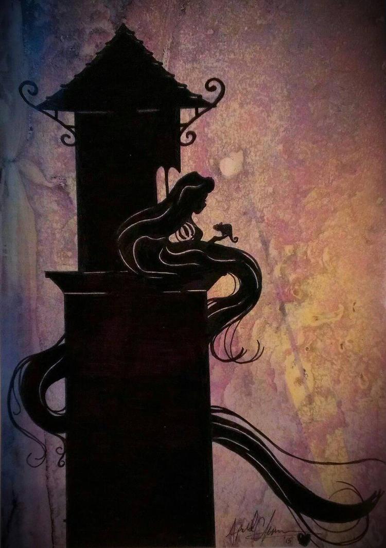 Rapunzel by April0930