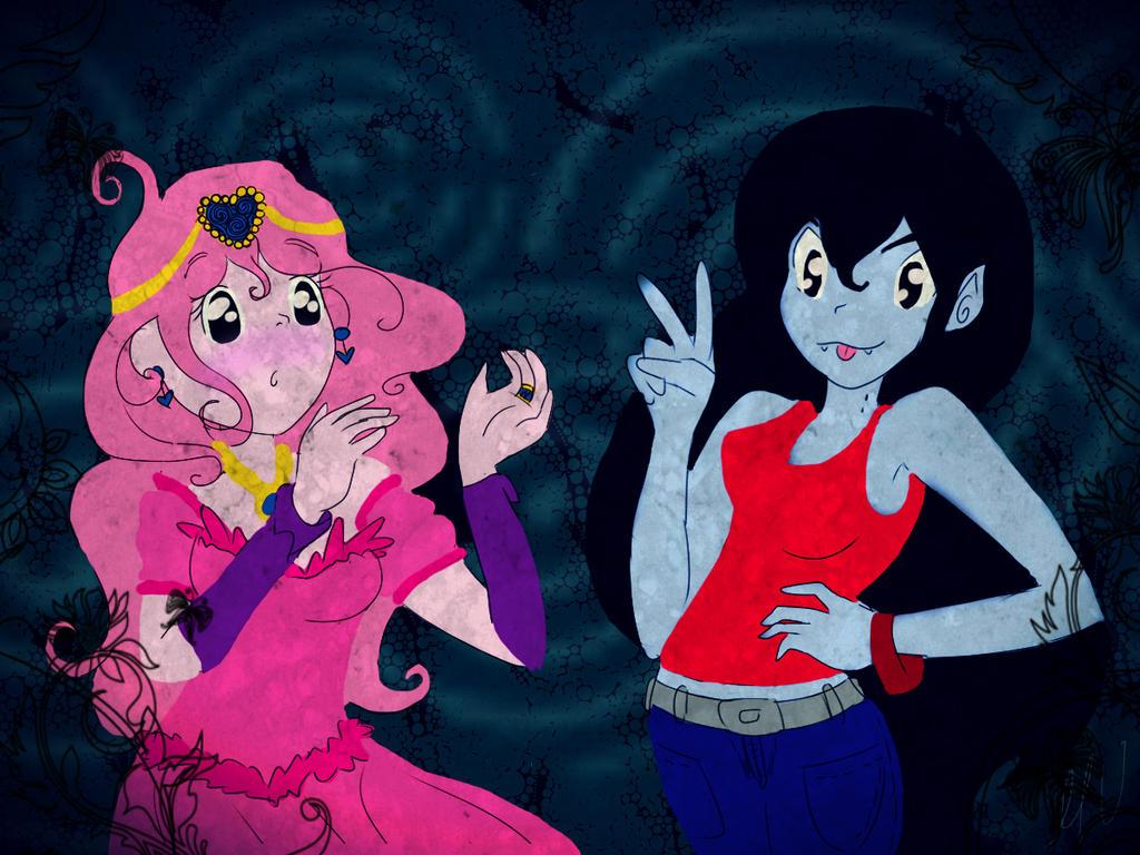 Dulce Princesa Y Marceline By MygaV2011