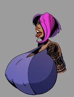 Suzie Bust by frankperrin