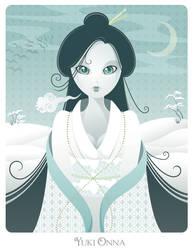 BGAW: Yuki Onna by sun2197