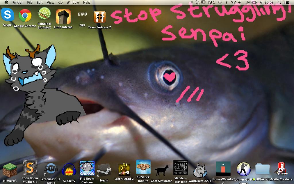 My Desktop by Satsuki-Mochi