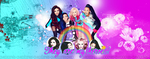 They Are My Heroes! | Portada Little Mix by aviedictions