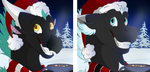 Tharion and Deflon xmas icons2 by Cameo647