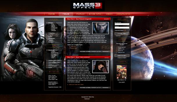Mass Effect Layout