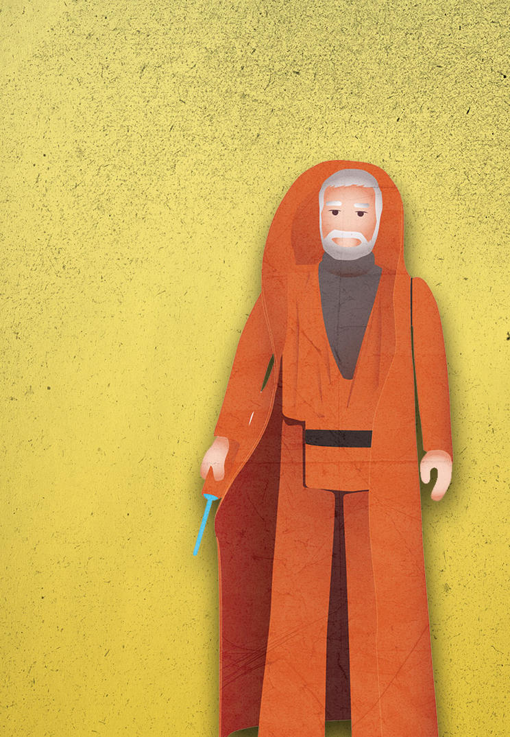 Obi wan Kenobi by SixPixeldesign