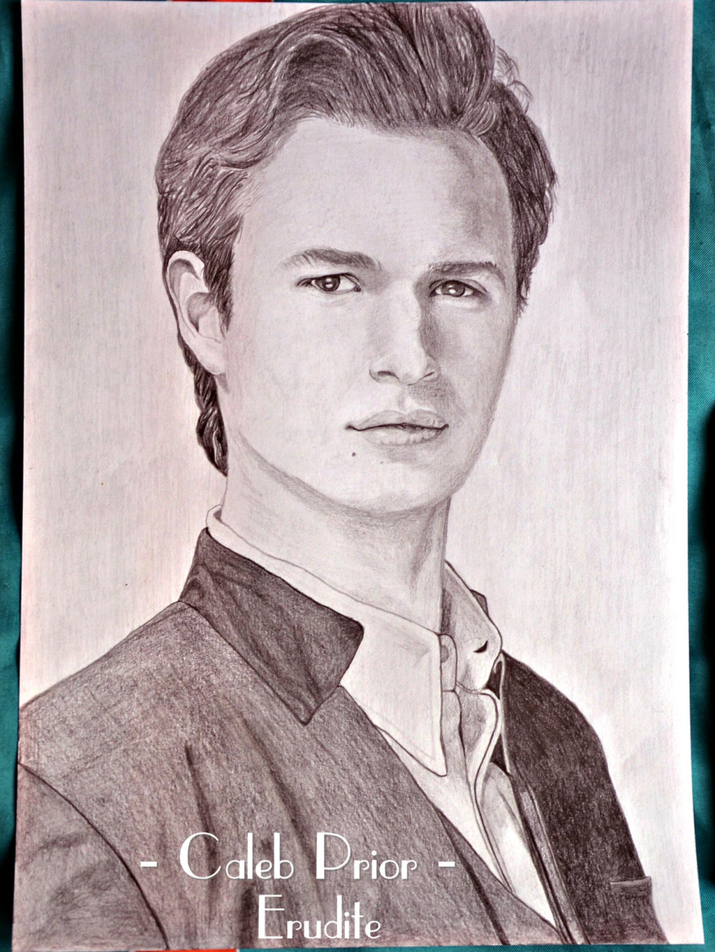 Ansel Elgort as Caleb Prior in Insurgent by ThresaDory on ...