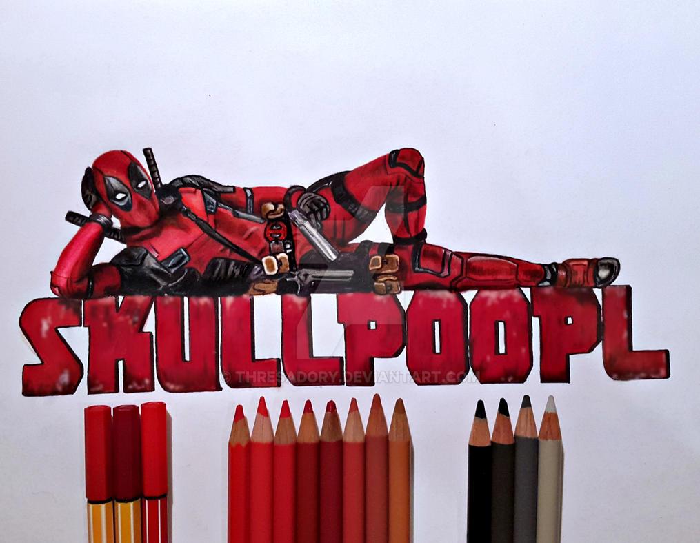 Deadpool/Skullpoopl by ThresaDory