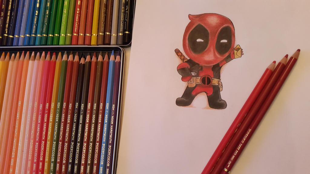 Deadpool Chibi by ThresaDory