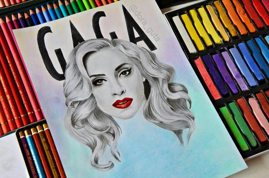 Lady Gaga by ThresaDory