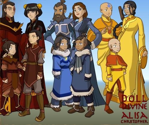Avatar The Last Airbender Kids By Bluey Bop11