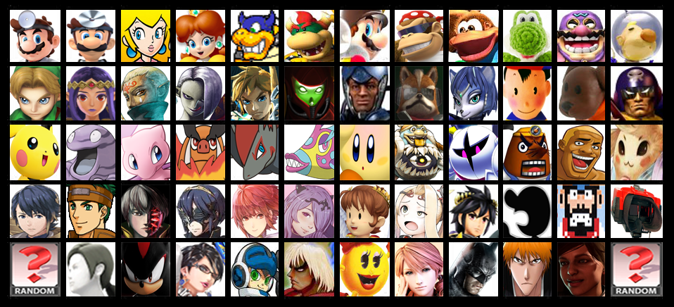super smash bros 5 roster nintendo switch by arcgaming91 on