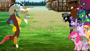 Twilight Sparkle's Crew vs. Discord