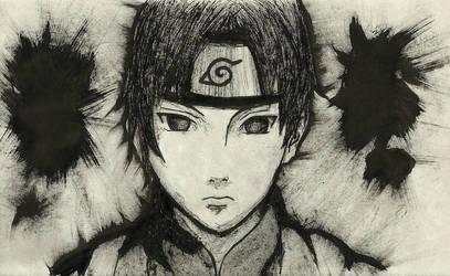 Sai [Mini INK Portrait #1] by SprinkleSprankles