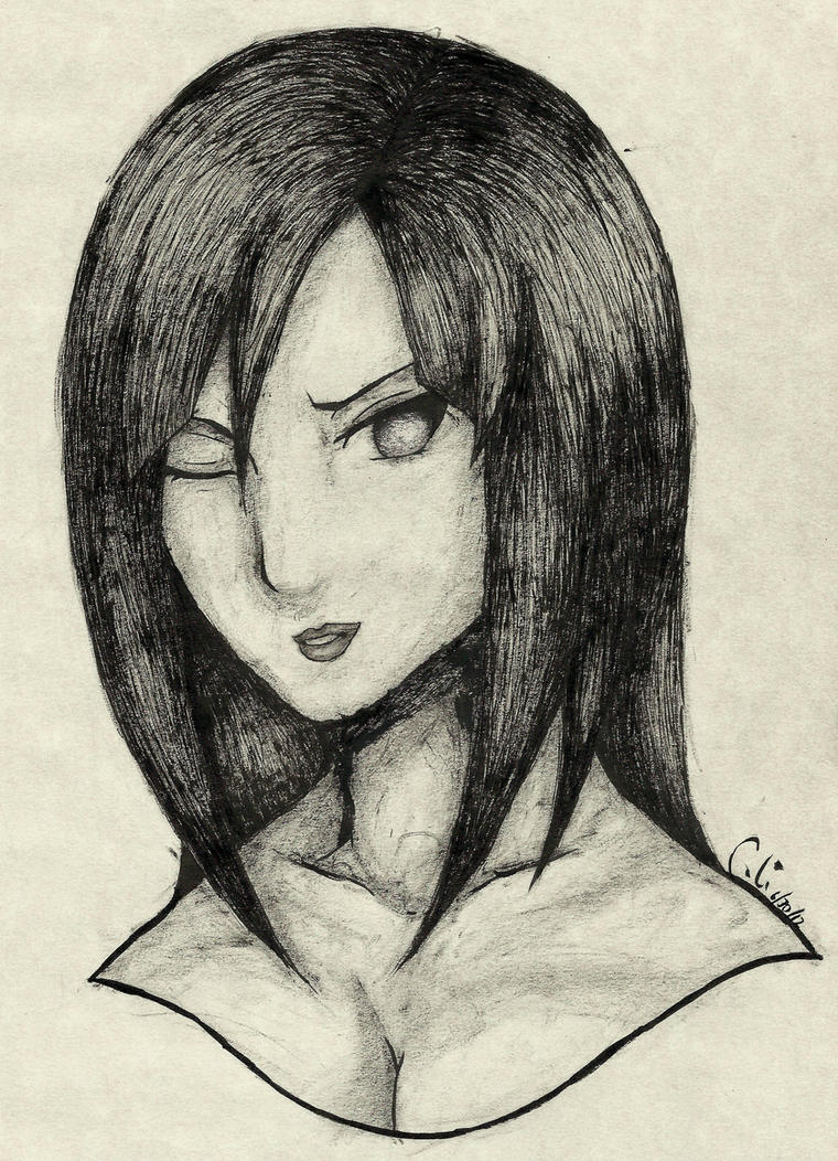 RTN Hinata [INK Portrait] by SprinkleSprankles