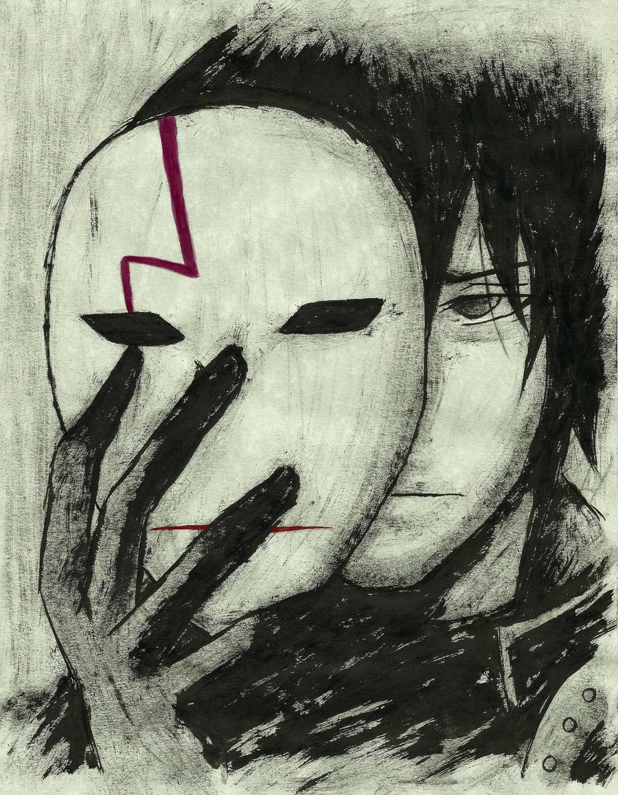 (CM) Hei - Darker Than Black [INK Portrait] by SprinkleSprankles