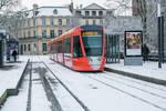 6 Fevrier - Tram sous la neige