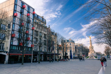 26 Fevrier : Centre de Reims hivernal