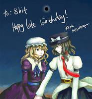 8bit's birthday by blameshiori