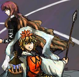 Hijiri and Shou by blameshiori