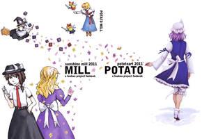 POTATO MILL: Touhou Fanbook by blameshiori
