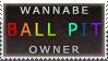 'ball pit' stamp by streamline69