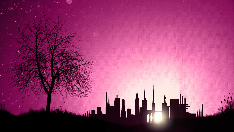 Evening scene by streamline69