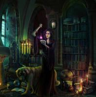A bit of magic -Request- by streamline69