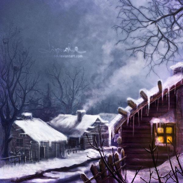 Wintertown by streamline69