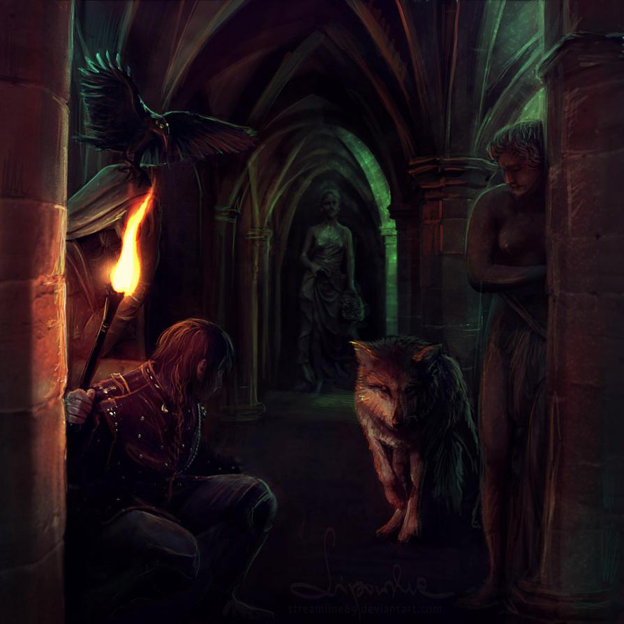 Bran's nightmare by streamline69