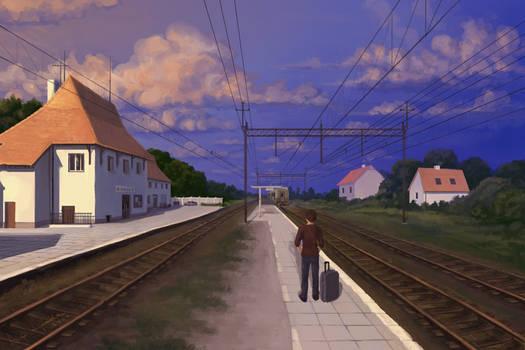 Drawn Again: The last train