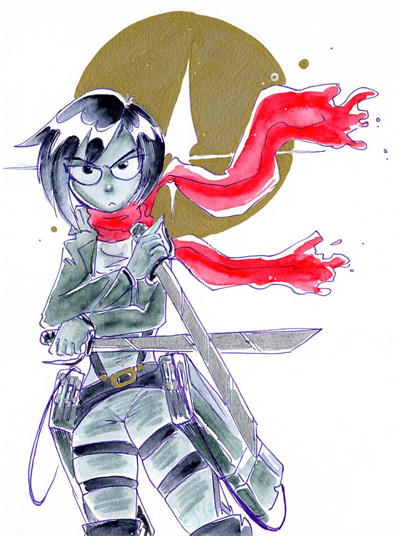 Mikasa es su casa by cyjon on deviantart - Mikasa es su casa ...