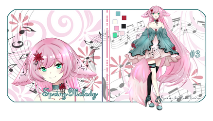 Adopt Auction: Spring Melody #3 [Open] by DeviNovia