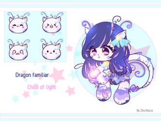Adopt Auction: Dragon Familiar [OPEN] by DeviNovia