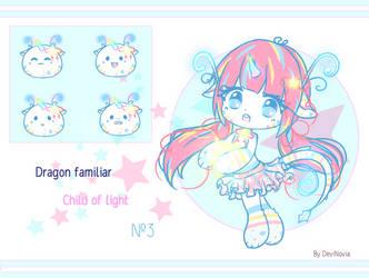 Adopt Auction: Dragon Familiar 3 [CLOSE] by DeviNovia