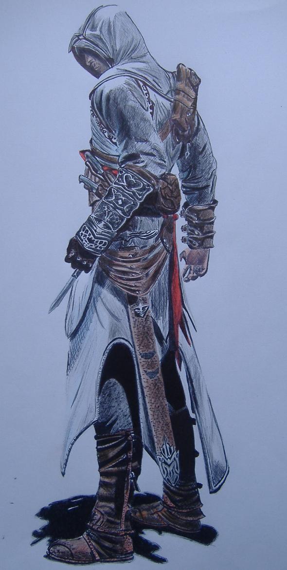 Altair by EgweneTargaryen