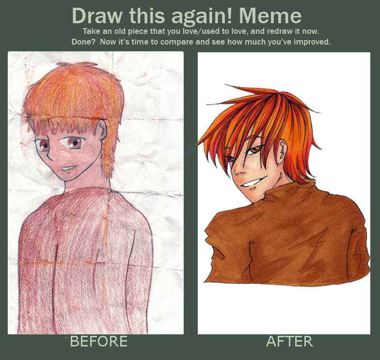Draw This Again Meme: Leo S. by sagitary1211