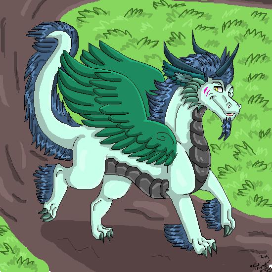 Dragon unicorn by dragonrace