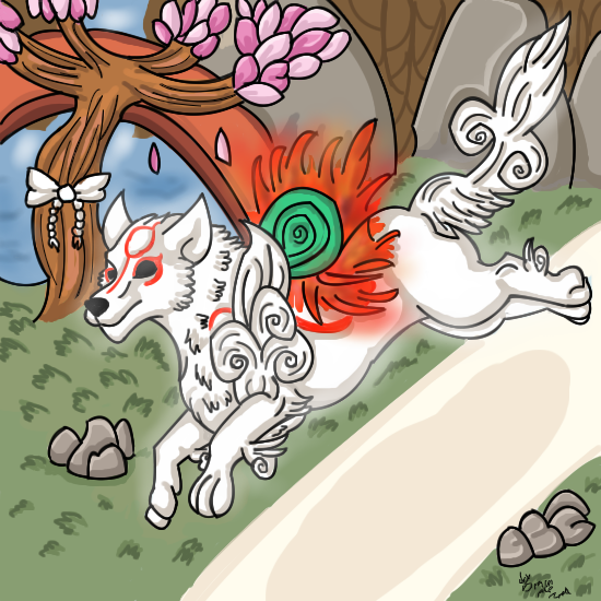 Okami again by dragonrace