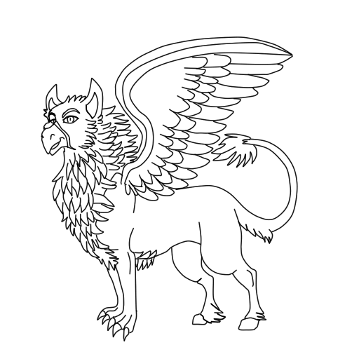 Harry Potter Hippogriff Coloring Pages Best Ideas For Printable