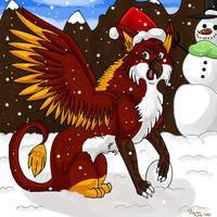 Snowy Day by dragonrace