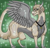 Fluff dragon by dragonrace