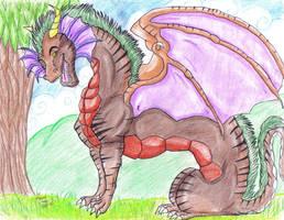 Dragon male new by dragonrace