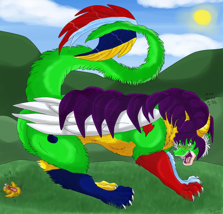 Help me! by dragonrace