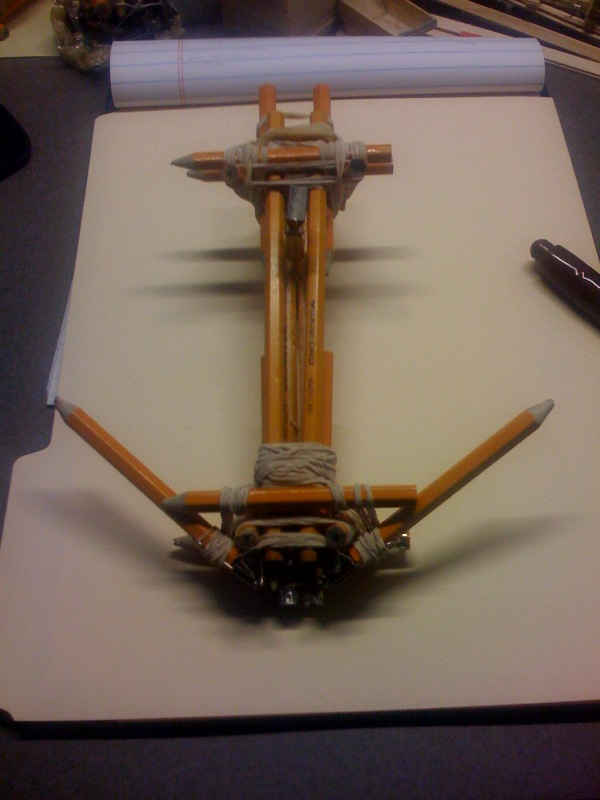 How To Make A Crossbow With Paper Clips